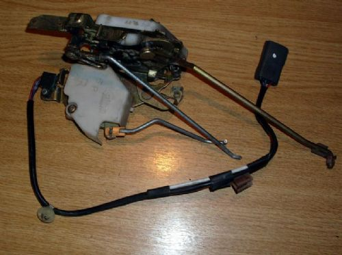 Door latch mechanism, r/h, Mazda MX-5 mk2 with central locking switch, Right hand, USED